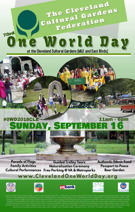 Cleveland Cultural Gardens 73rd Annual One World Day | sosassociates.com