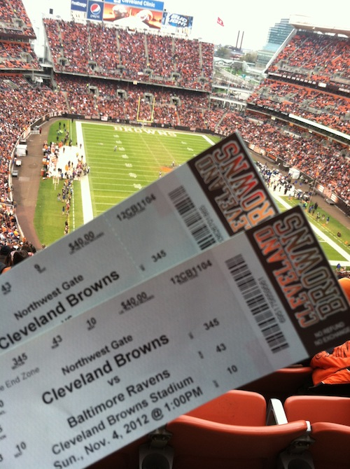 cleveland browns tickets cheap