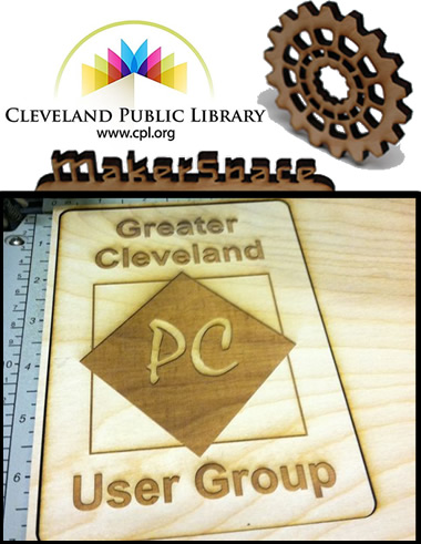 Greater Cleveland PC User Group Tour of TechCentral MakerSpace