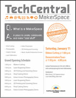 TechCentral MakerSpace Grand Opening Program