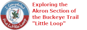 "3 of 5: Exploring the Akron Section of the Buckeye Trail ""Little Loop"""