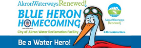 7) Saturday, May 5, 2018 - Akron Waterways Renewed! Blue Heron Homecoming