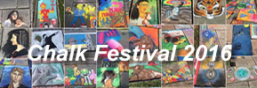 A Weekend of Community Art, Including the 2016 Cleveland Museum of Art Chalk Festival