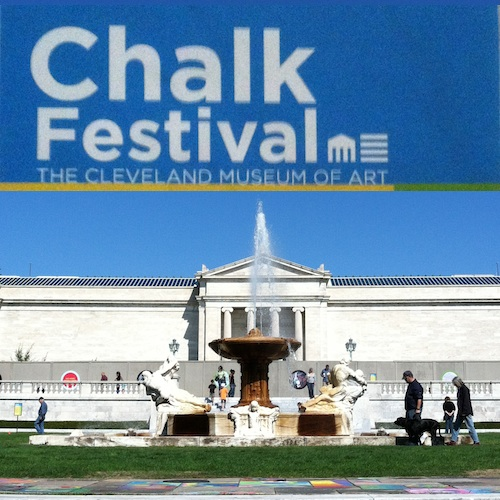 Cleveland Museum of Art Chalk Festival 2012