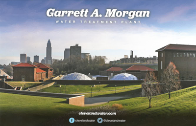 Garrett A. Morgan Water Treatment Plant brochure