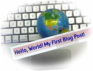 Hello, World! My First Blog Post!