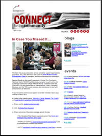 In Case You Missed It ... | Connect for the Community