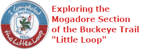 "4 of 5: Exploring the Mogadore Section of the Buckeye Trail ""Little Loop"""