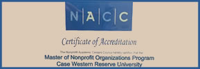A Celebration! Master of Nonprofit Organizations (MNO) Accreditation!