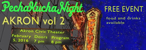 PechaKucha Night at the Akron Civic Theatre