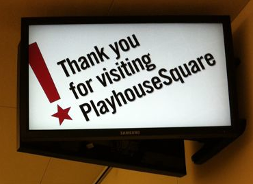 Ohio Blogging Association Theatre Tour with Playhouse Square Partners