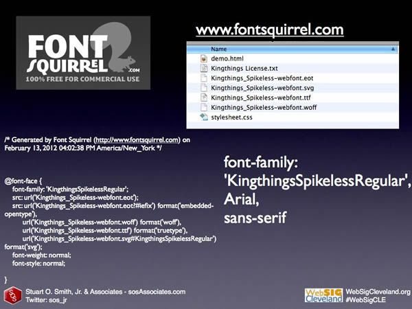 Web Font Design