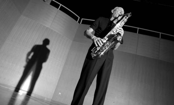 Saxophonist Howie Smith