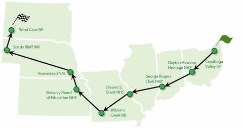 Midwest Region National Parks to Host the American Solar Challenge in 2016