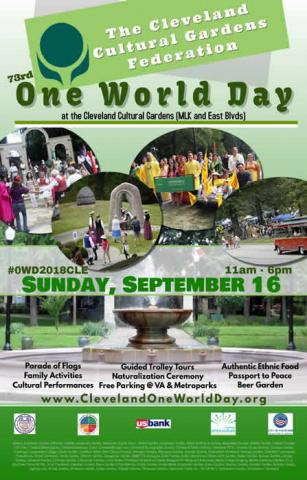 Cleveland Cultural Gardens 73rd Annual One World Day