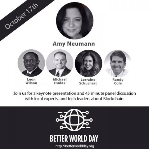 Third Annual Better World Day - Blockchain for a Better World