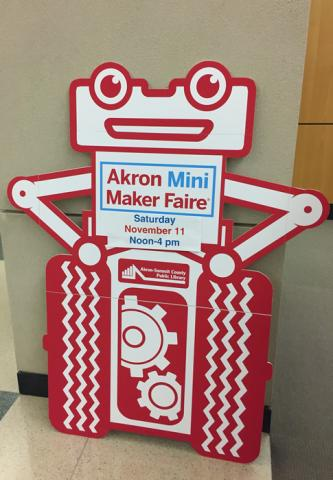 Akron Mini Maker Faire 2017