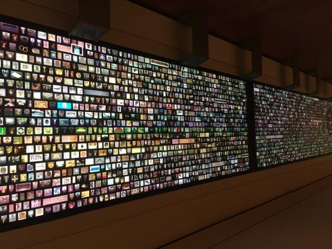 ArtLens Wall - Connect with art objects on the largest such screen in the United States