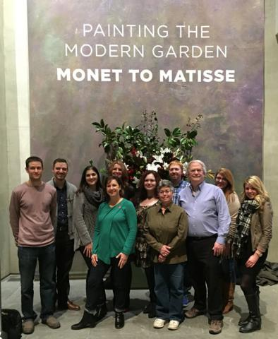 Bloggers Tour - Painting the Modern Garden: Monet to Matisse