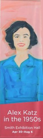 """Brand-New & Terrific: Alex Katz in the 1950s"""