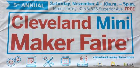 Cleveland Mini Maker Faire 2017