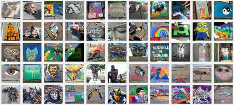Chalk Festival 2014 - Cleveland Museum of Art
