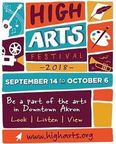High Arts Festival Akron 2018 was held from September 14th to October 6th