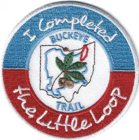 "Buckeye Trail ""Little Loop"" Completion Patch - ""I Completed The Little Loop"""