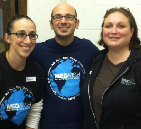 MedWish Staff: Reanna Karousis; Josh Kravitz; Traci Christler