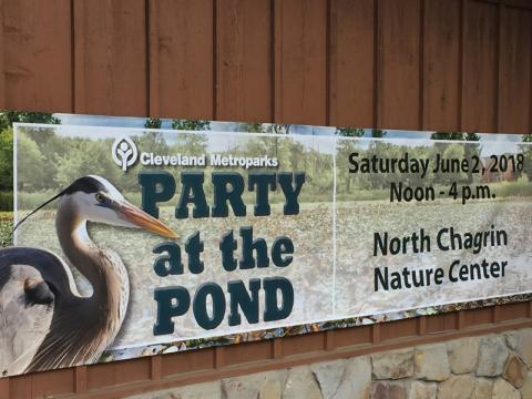 North Chagrin Reservation Party At The Pond