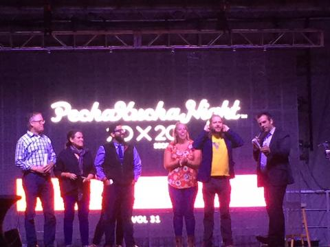 Thank you, PechaKucha Night Cleveland Leadership Team!