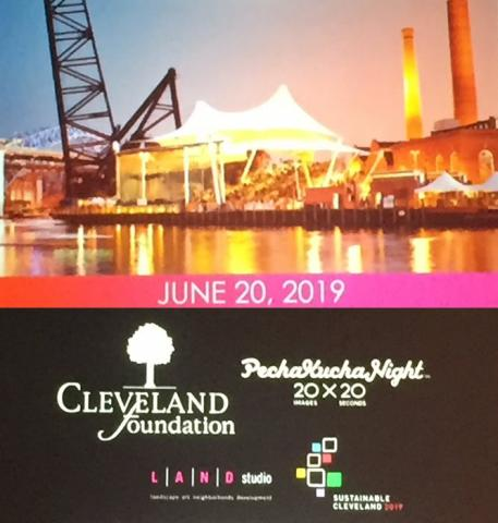 Global PechaKucha Night Cleveland: Waterways 2019