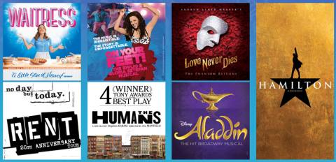 Announcing the 2017-2018 KeyBank Broadway Series at PlayhouseSquare!