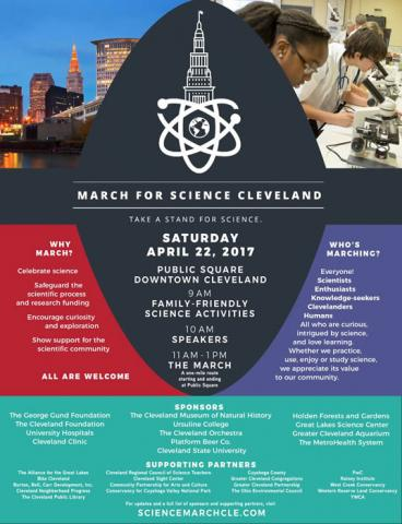 March for Science Cleveland Poster
