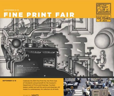 Print Club of Cleveland's 35th Fine Print Fair