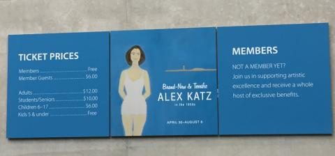 """Brand-New & Terrific: Alex Katz in the 1950s"" Ticket Information"