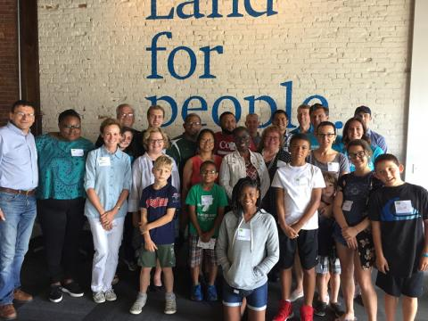 The Trust for Public Land -- Common Ground Attendees