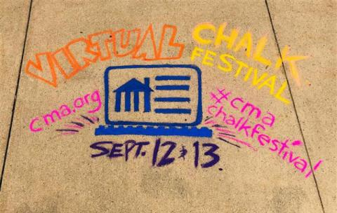 Cleveland Museum of Art's Virtual Chalk Festival 2020 #CMAChalkFestival