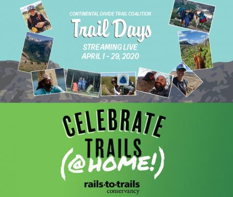Social Distancing with Virtual Trail Talks