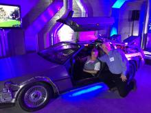 """Back to the Future"" DeLorean Time Machine"