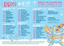 Brite Winter 2017 Schedule