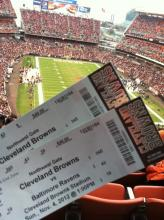 Won Cleveland Browns Tickets
