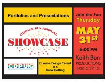 May 31st CDPUG Members Showcase