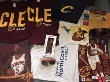 Thank you for swag bag full of gifts from North Coast Harbor and the Cavs.