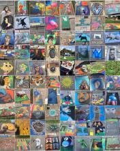 Cleveland Museum of Art Chalk Festival 2016