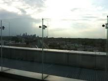 Cleveland Clinic rooftop view