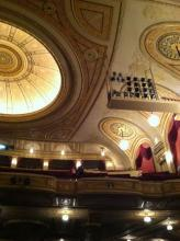 Connor Palace Theatre truly is decorated like a palace fit for a king or queen