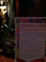 GuitarMania 2012 fact sheet
