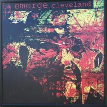 Emerge Cleveland's opening of artist Steven Standley's installation.