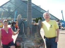 Photo 2: @GarrettWeider Guitar - Julie & Stuart at Rock Hall